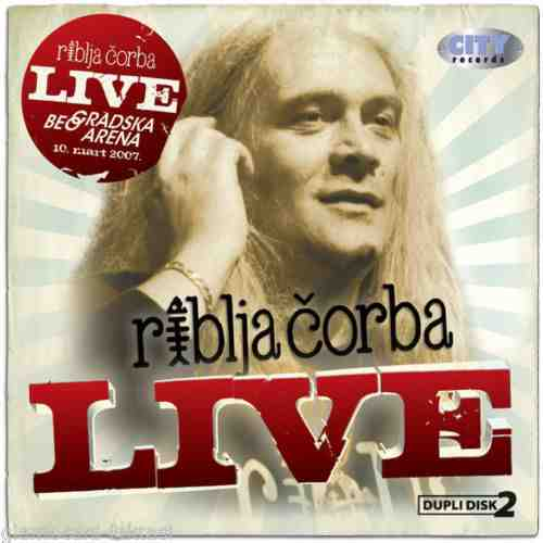 2CD RIBLJA CORBA  LIVE COLLECTION 2010 Serbian Bosnian Croatian music