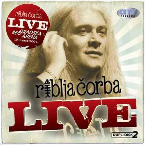 2CD RIBLJA CORBA  LIVE COLLECTION 2010 Serbian Bosnian Croatian music