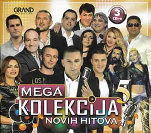 3CD MEGA KOLEKCIJA NOVIH HITOVA 5 GRAND compilation 2017