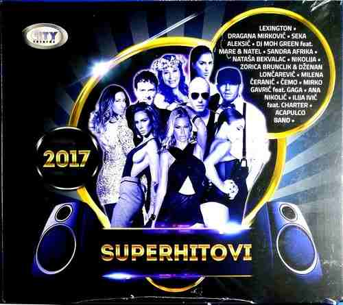 CD SUPERHITOVI CITY RECORDS compilation 2017