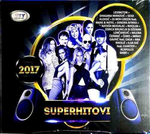 CD SUPERHITOVI CITY RECORDS compilation 2017