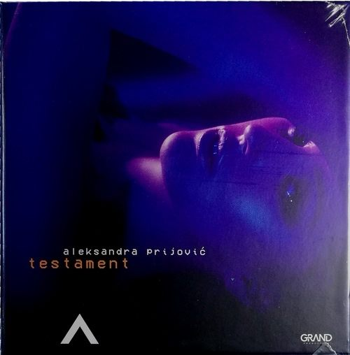 CD ALEKSANDRA PRIJOVIC TESTAMENT album 2017