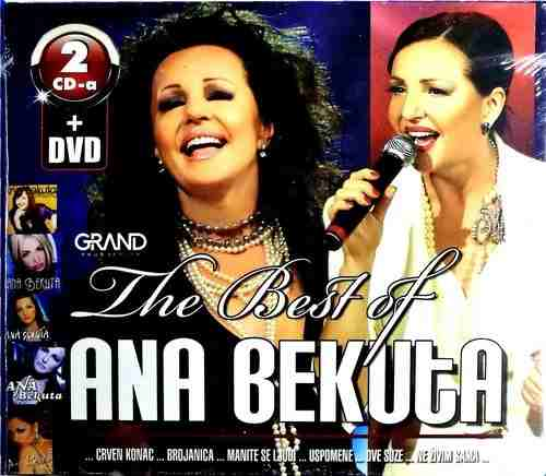 2CD+DVD ANA BEKUTA THE BEST OF Koncert Sava Centar 2011 (DVD)