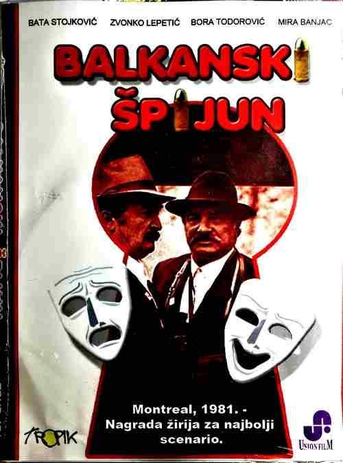 DVD BALKANSKI SPIJUN Danilo Bata Stojkovic Zvonko Lepetic film exyu