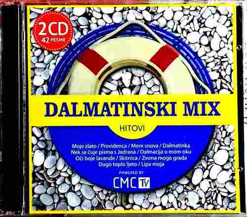 2CD DALMATINSKI MIX HITOVI compilation 2015