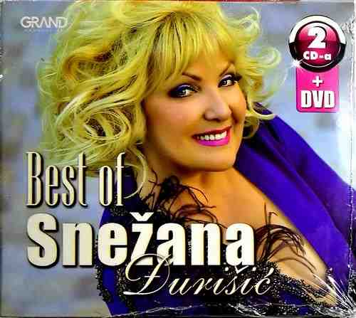 2CD+DVD SNEZANA DJURISIC BEST OF 2017 I KONCERT U SAVA CENTRU