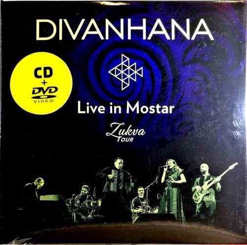 CD+DVD DIVANHANA LIVE IN MOSTAR ZUKVA TOUR 2017