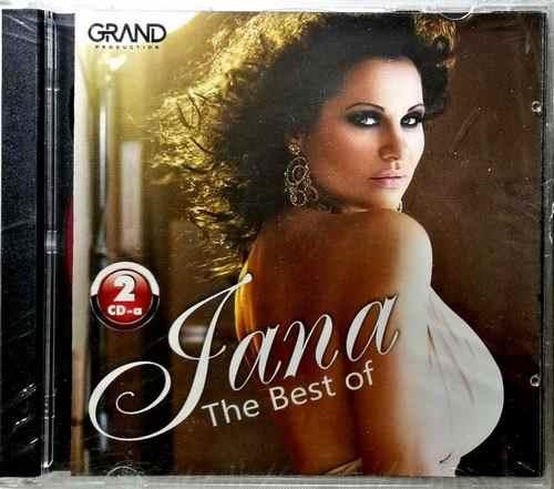 2CD JANA BEST OF compilation 2016 narodna muzika novo grand srbija hrvatska folk