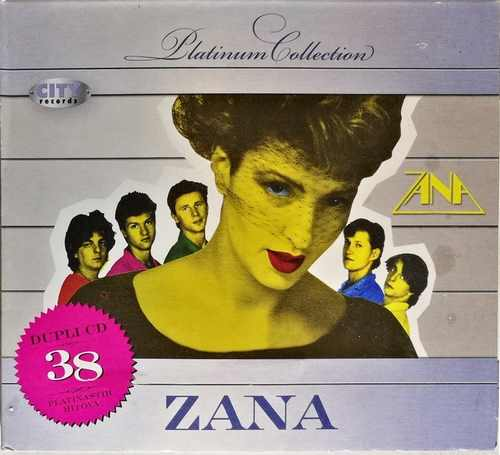 2CD ZANA PLATINUM COLLECTION compilation 2009 serbia bosnia croatia Cardboard