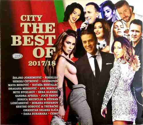 CD CITY RECORDS THE BEST OF 2017/2018 joksimovic nikolija mirkovic cetkovic