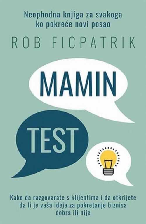 Mamin test Rob Ficpatrik knjiga 2017 edukativni esejistika marketing laguna