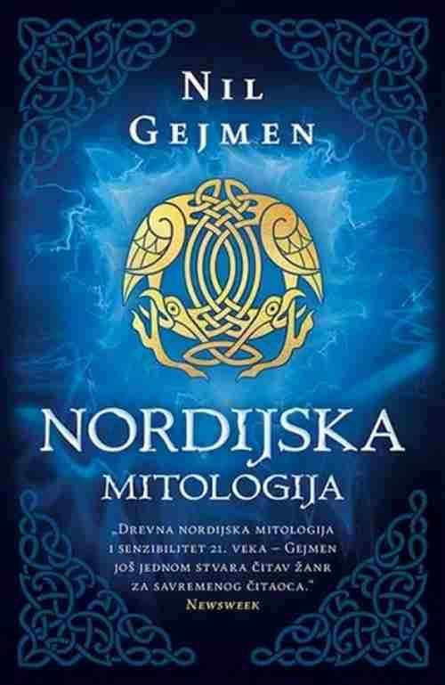Nordijska mitologija Nil Gejmen knjiga 2017 mitologija laguna srbija novo prevod