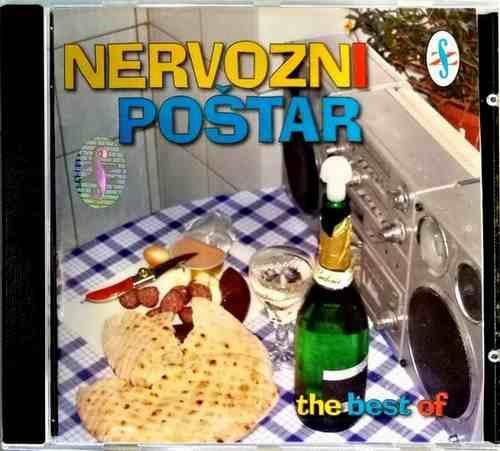 CD NERVOZNI POSTAR THE BEST OF KOMPILACIJA 2006 NARODNA GUSTERSKA SRBIJA FOLK