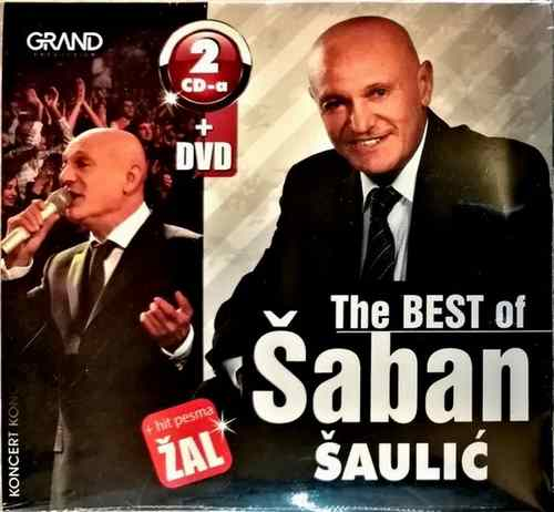 2CD +  DVD SABAN SAULIC THE BEST OF I HIT PESMA ZAL COMPILATION 2016 KONCERT