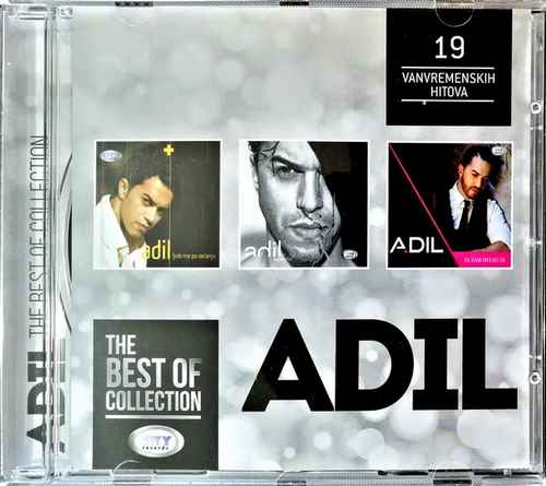 CD ADIL THE BEST OF COLLECTION kompilacija 2017 city records srbija HRVATSKA