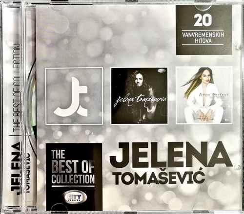CD JELENA TOMASEVIC THE BEST OF COLLECTION kompilacija 2017 city records srbija