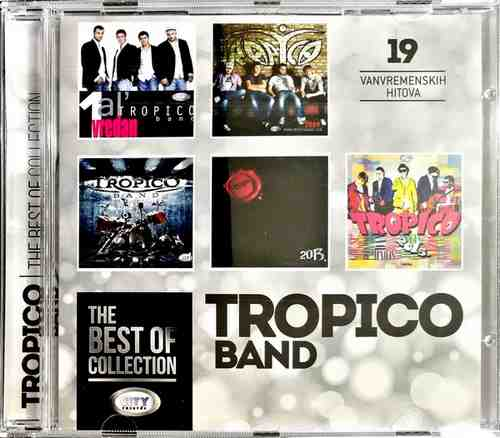 CD TROPICO BAND THE BEST OF COLLECTION kompilacija 2017 city records srbija