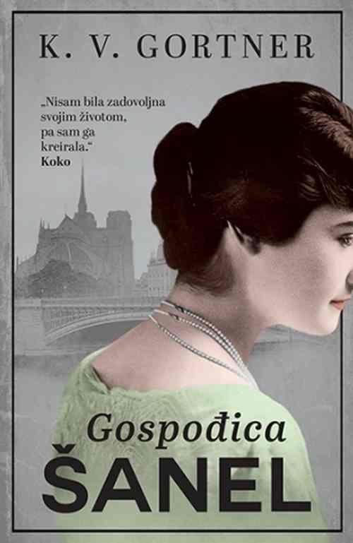 Gospodjica Sanel K. V. Gortner knjiga 2018 drama biografija laguna srbija novo