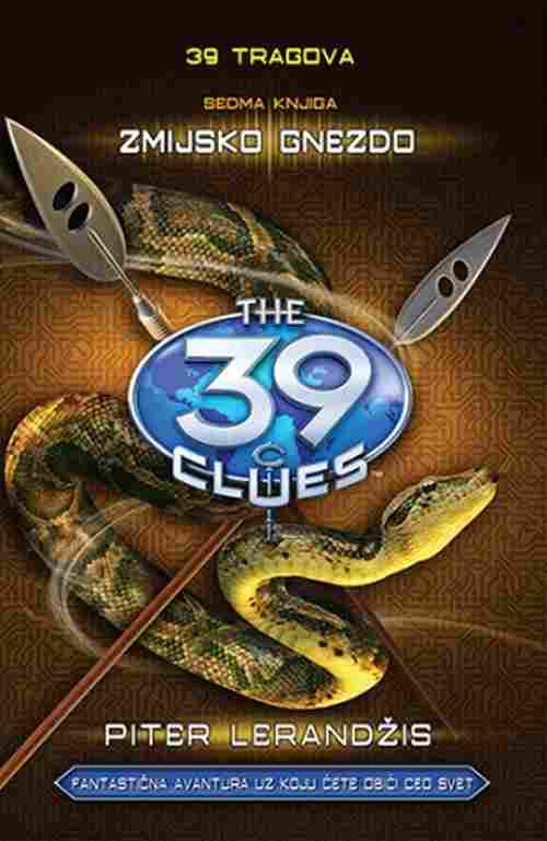39 tragova Zmijsko gnezdo sedma knjiga Piter Lerandzis knjiga 2018 tinejdz novo