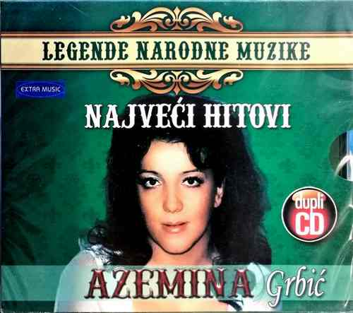 2CD AZEMINA GRBIC NAJVECI HITOVI LEGENDE NARODNE MUZIKE EXTRA MUSIC NARODNA FOLK