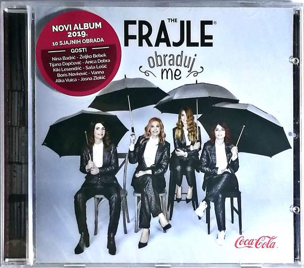 CD THE FRAJLE OBRADUJ ME ALBUM 2019 10 SJAJNIH OBRADA