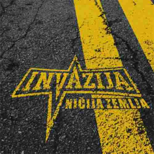 CD  INVAZIJA  Nicija zemlja  Album 2008 One Records Serbia Bosnia  Hard Rock
