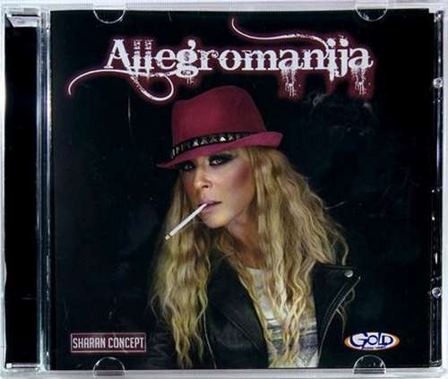 CD ALLEGRO BAND  ALLEGROMANIJA ALBUM 2015 narodna srbija sharan concept hitovi