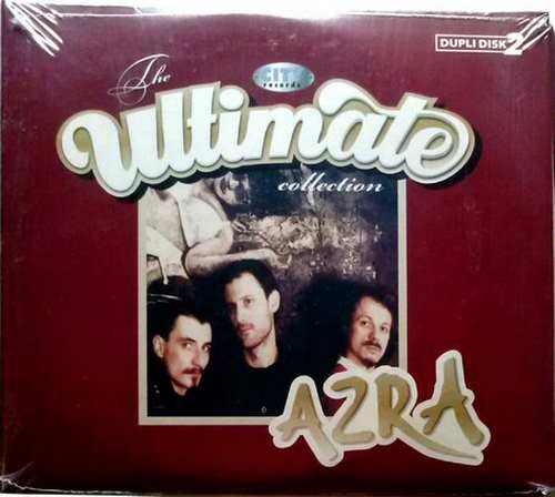 2CD AZRA  ULTIMATE COLLECTION 2009 JOHNY STULIC digipak serbia zabavna muzika