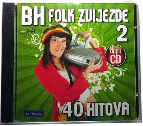 2CD BH FOLK ZVIJEZDE 2  40 HITOVA compilation 2010 Bosnia Croatia Serbia Folk