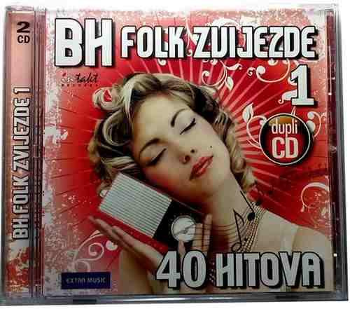 2CD BH FOLK ZVIJEZDE  40 HITOVA compilation 2010 Bosnia Croatia Serbia Folk