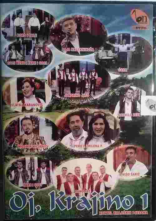 CD KOKTEL KRAJISKIH PJESAMA OJ KRAJINO 1 2012 jandrino jato goci i zare bend