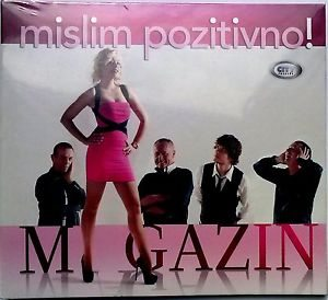CD MAGAZIN  MISLIM POZITIVNO! album 2014 City Records SERBIEN BOSNIEN KROATIEN