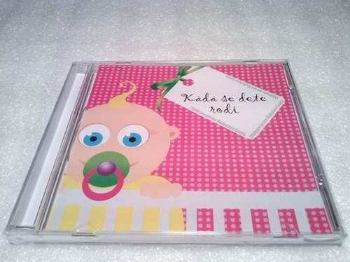 CD RADOSLAV GRAIC  KADA SE DETE RODI album 2008 Serbian, Bosnian, Croatian