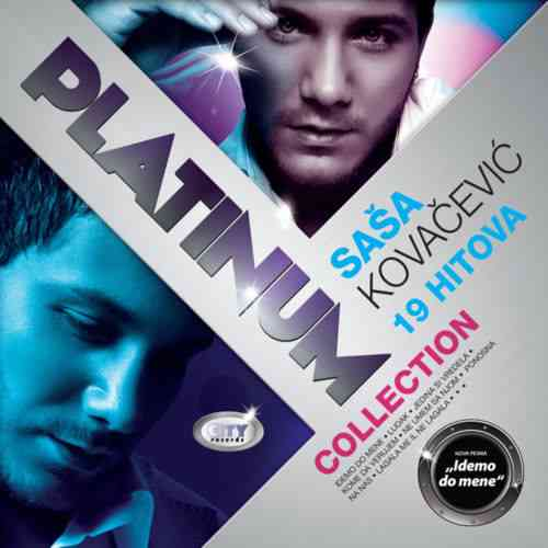 CD SASA KOVACEVIC  THE PLATINUM COLLECTION 2011 Pop Sasa Kovacevic City records