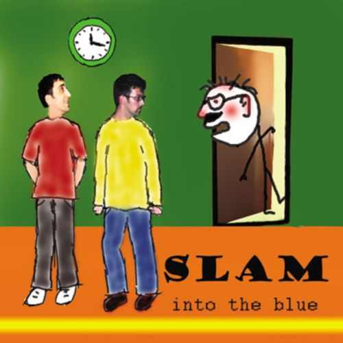 CD SLAM  INTO THE BLUE album 2009 One Records Serbia Bosnian Croatian
