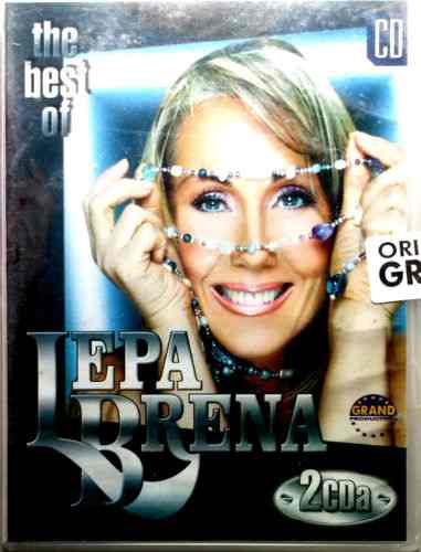 2CD LEPA BRENA THE BEST OF compilation 2003 Srbija, Bosna, Hrvatska grand folk