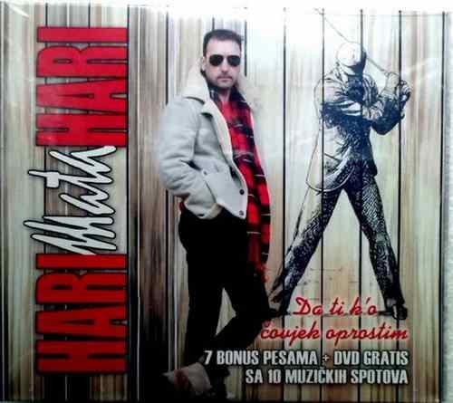 CD+DVD HARI MATA HARI  DA TI KO COVJEK OPROSTIM album 2014 city records