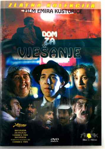 DVD DOM ZA VESANJE Emir Kustirica Time Of The Gypsies Ggoran Bregovic