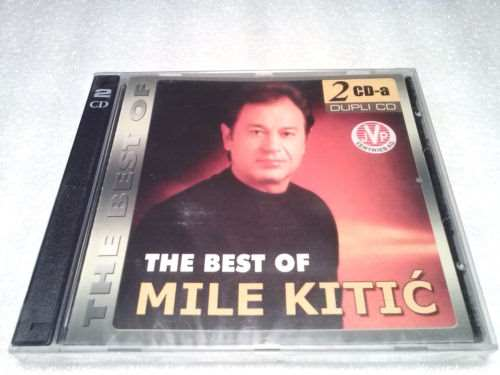 2CD MILE KITIC  THE BEST OF compilation 2009 Serbian Bosnian Croatian music