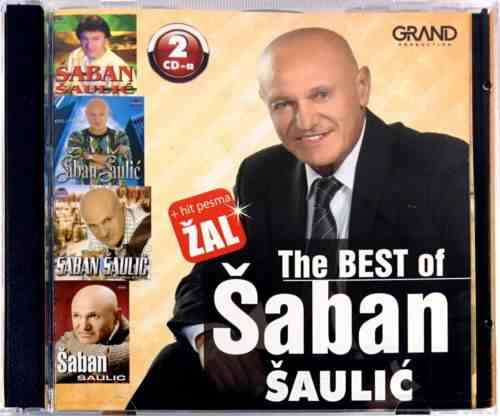 2CD SABAN SAULIC THE BEST OF I HIT PESMA ZAL compilation 2016 folk muzika srbija