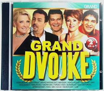 2CD GRAND DVOJKE Compilation 2016 Ljuba Alicic Radisa Urosevic Topalko