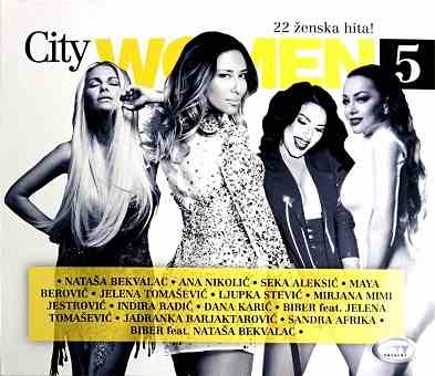 CD CITY WOMEN 5 compilation 2016 aleksic berovic tomasevic nikolic radic sandra