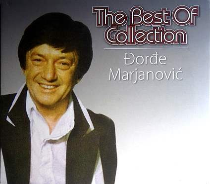 CD DJORDJE MARJANOVIC THE BEST OF COLLECTION compilation 2015 jugoslavija pop
