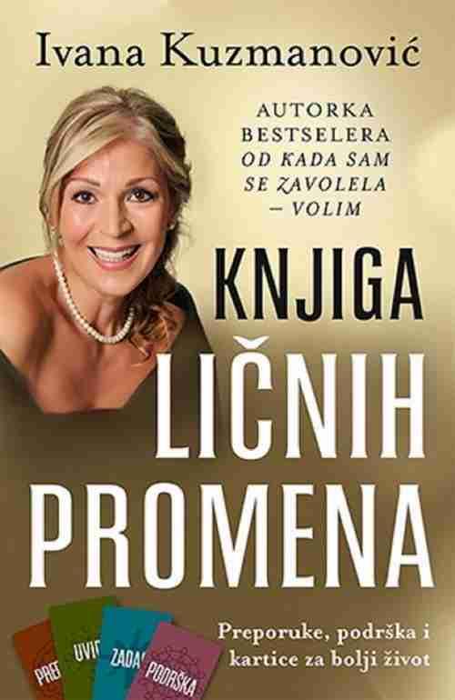 Knjiga licnih promena Ivana Kuzmanovic knjiga 2016 Popularna psihologija laguna