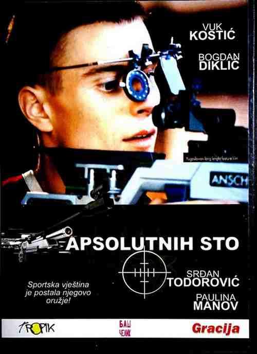 DVD APSOLUTNIH STO film 2001 srdjan todorovic vuk kostis bogdan diklic golubovic