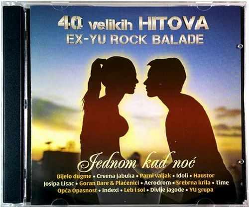 2CD 40 VELIKIH HITOVA EX YU ROCK BALADE compilation 2016 bijelo dugme idoli jura