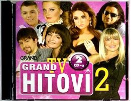 2CD GRAND TV HITOVI 2 compilation 2016 narodna folk srbija hrvatska bosna balkan