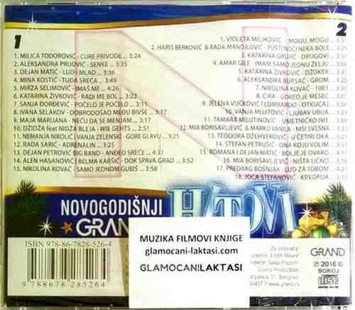 2CD NOVOGODISNJI GRAND HITOVI compilation 2017 folk srbija narodna muzika novo