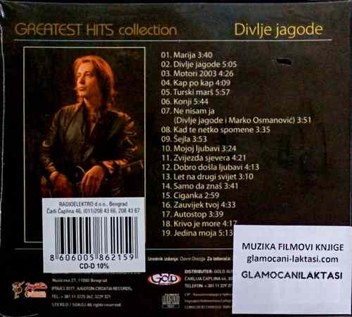 CD DIVLJE JAGODE GREATEST HITS COLLECTION 19 HITOVA motori sejla autostop 2017