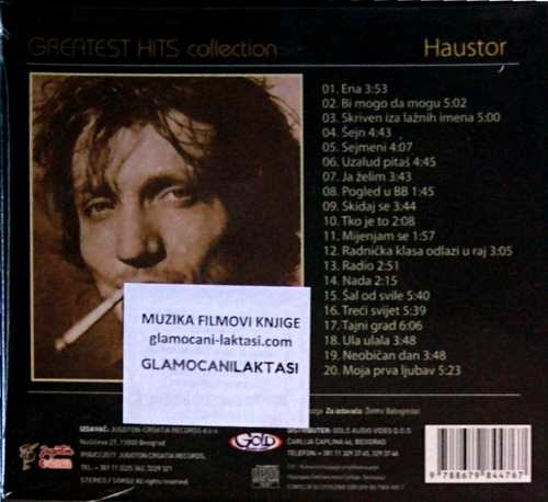 CD HAUSTOR GREATEST HITS COLLECTION 19 HITOVA sejn radio moja prva ljubav 2017